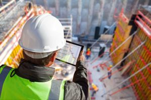 Specifier looking at Project Timeline