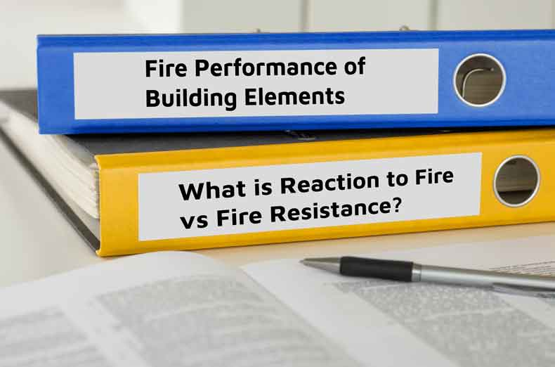 What is the fire performance of XPS insulation in ground floor constructions?