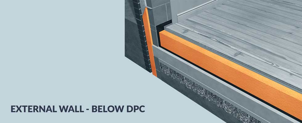 External Wall - below DPC Banner