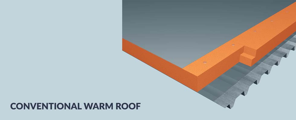 Conventional Warm Roof Banner