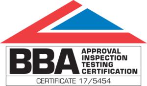 BBA Certificate 17/5454 Logo