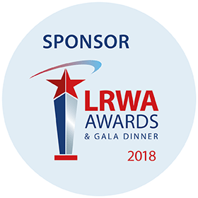 RAVATHERM UK SHOWS ITS SUPPORT FOR LRWA AWARDS
